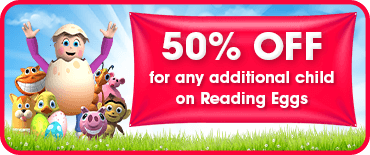 50% off any additional child discount