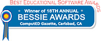 Bessie Best Educational Software Award in 2012