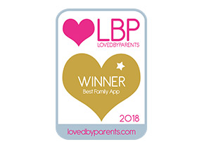 Loved by Parents Best Family App Award Winner 2018