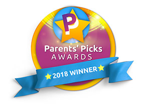 Parent's Pick Awards Winner 2018