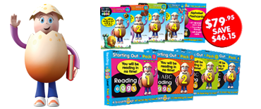 Reading Eggs Book Pack Level 1 special offer