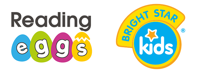 Reading Eggs and Bright Star Kids logos