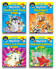 Mathseeds My First Activity Books