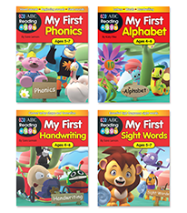 Reading Eggs My First Activity Book Pack