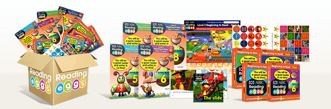 Learn to Read ABC Reading Eggs Level 2 Book Pack