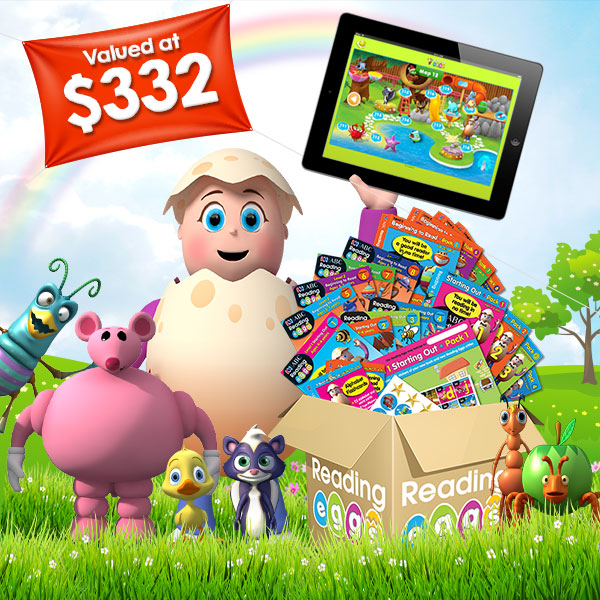 Win a Reading Eggs Mega Book Pack valued at $332