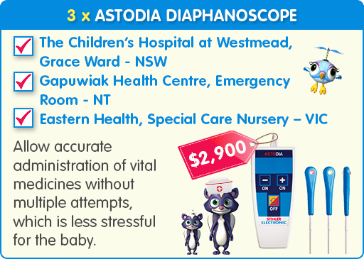 3 x Astodia Diaphanoscope