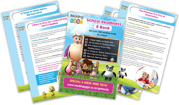 free school readiness e-book