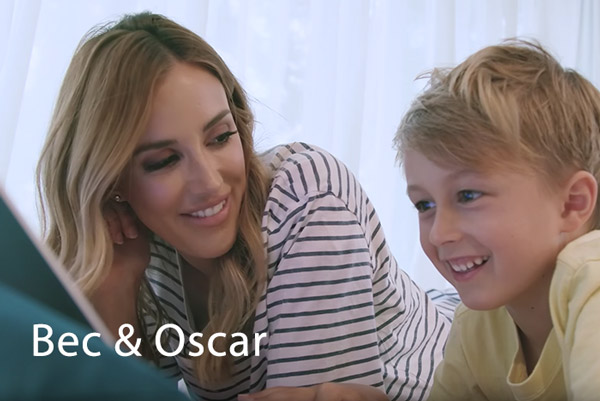 Testimonial video from Bec & Oscar